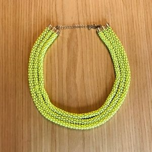Chartreuse Round Chain Necklace